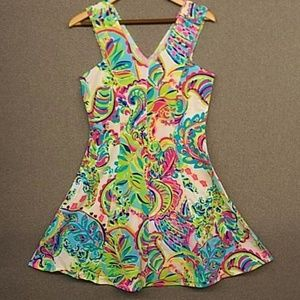 Lilly Pulitzer french Terry Cotton Dress. L XL